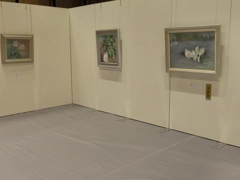 日本画家・柳樂晃里・第13回安来市美術展B1