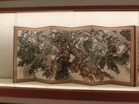 日本画家・柳樂晃里190602加納美術館7