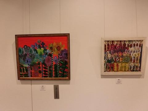 日本画家・柳樂晃里・第13回安来市美術展A7
