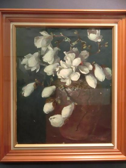 日本画家・柳樂晃里190602加納美術館6