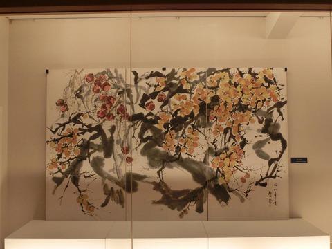 日本画家・柳樂晃里190602加納美術館5