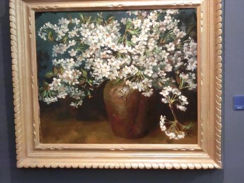 日本画家・柳樂晃里190602加納美術館8