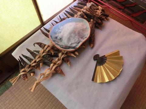 日本画家・柳樂晃里190203節分1