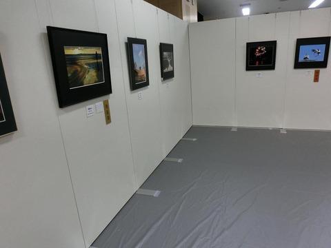 日本画家・柳樂晃里・第13回安来市美術展A8