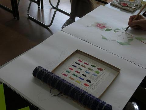 柳樂晃里2007日本画教室3