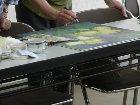 柳樂晃里2007日本画教室2