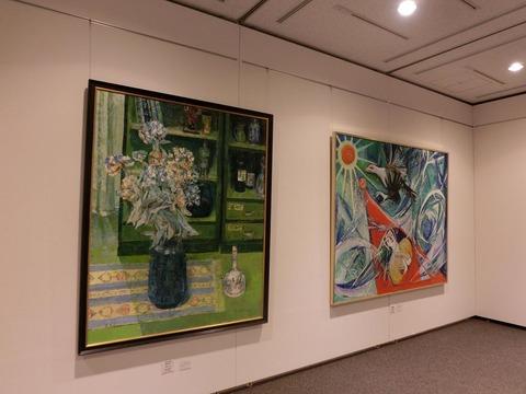 日本画家・柳樂晃里・第13回安来市美術展A5