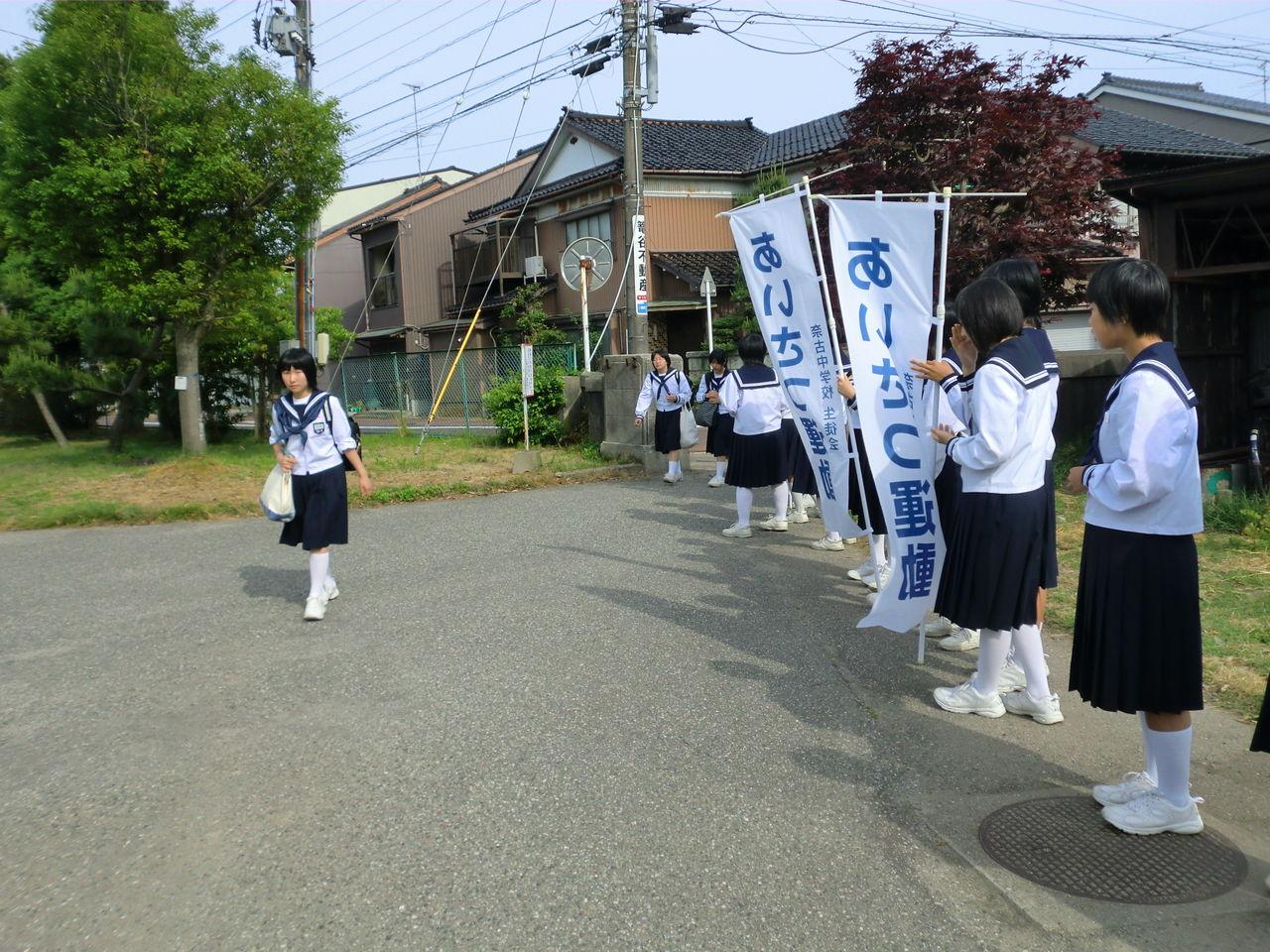 女子バスケット あいさつ運動 005  「生徒会活動」カテゴリの最新記事   ようこそ~射水市立
