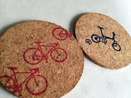 自転車のコースター1