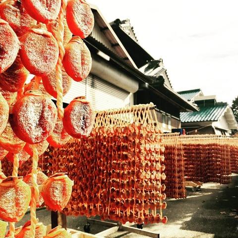 四季の里に伝わる串柿作り erisetoyama