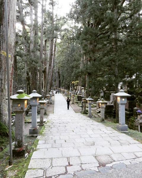 高野山奥の院 matsu_shiho