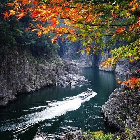 秋の瀞峡 ever_green_24