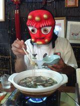 タル男・なべを食う