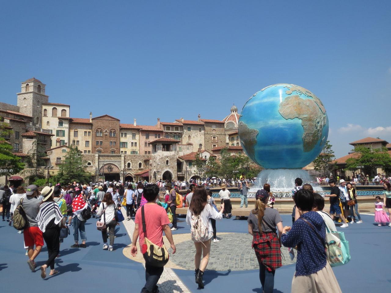 人生初の東京ディズニーシーへ行ったお話シー : 名古屋から日本全国