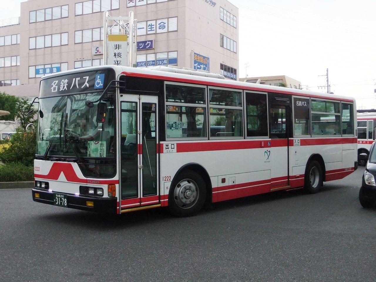 DSCF7842 赤池駅にて撮影した名鉄バスのエアロスターです。 (名古屋200か3178・KL