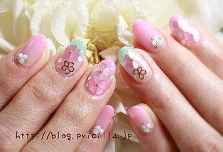 桜ネイル13