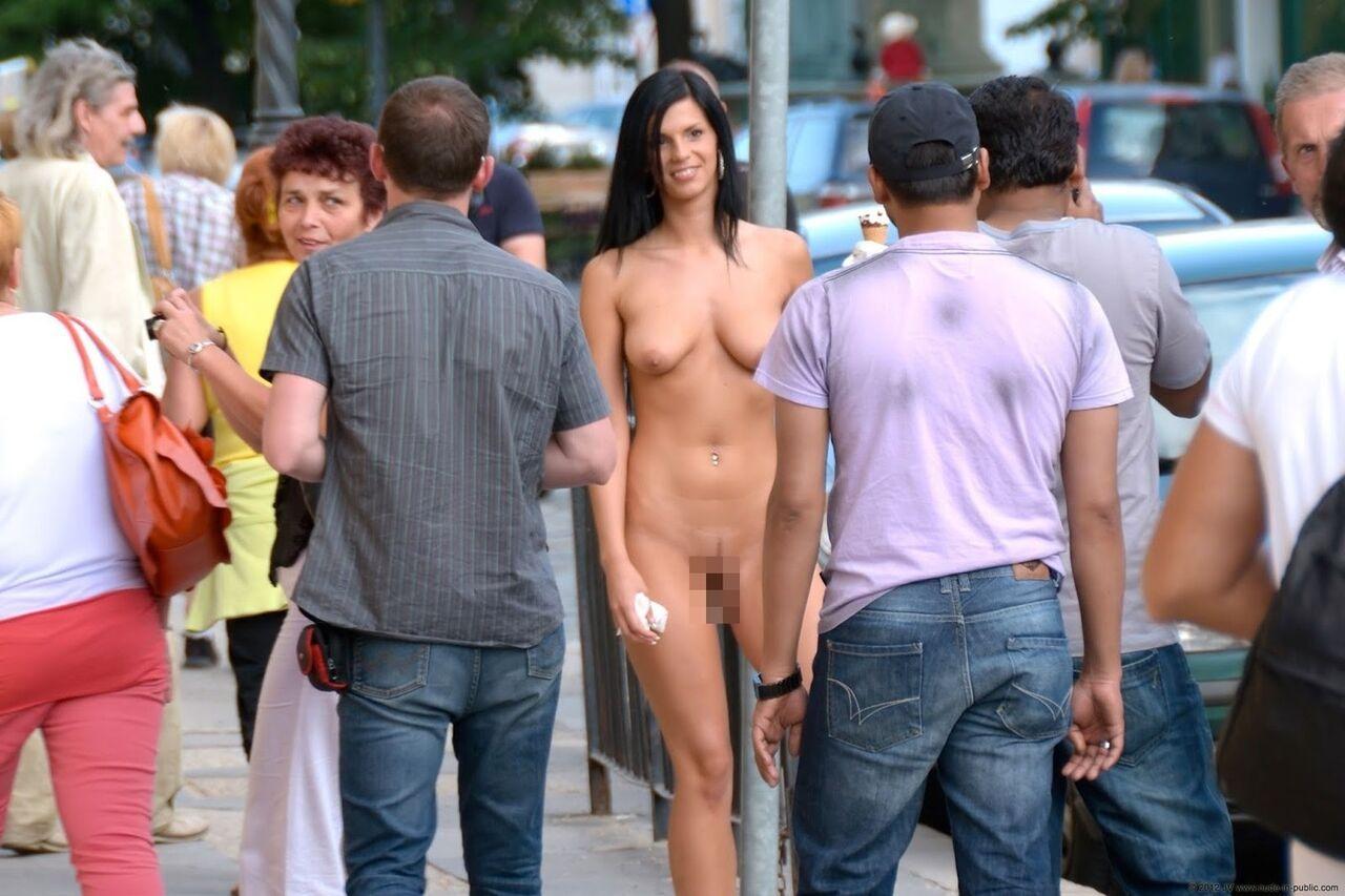 Nude Teen In Public