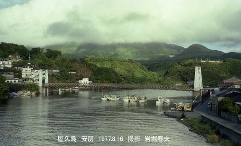 19770816 屋久島安房