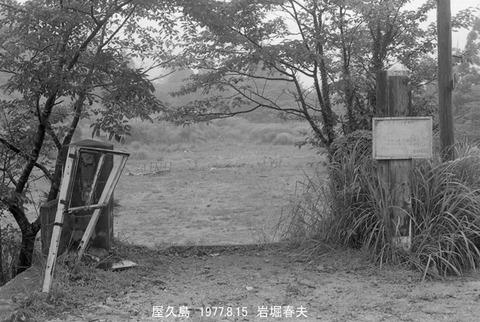 7711827 屋久島森林鉄道