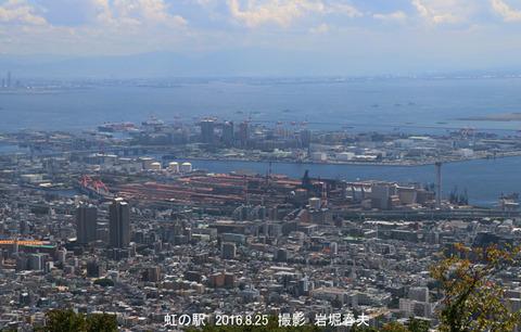 神戸市 、摩耶から展望p8129