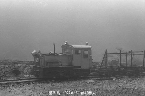 7711926 屋久島、森林鉄道