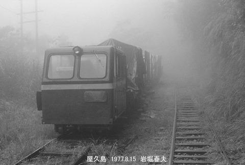 7711912 屋久島森林鉄道