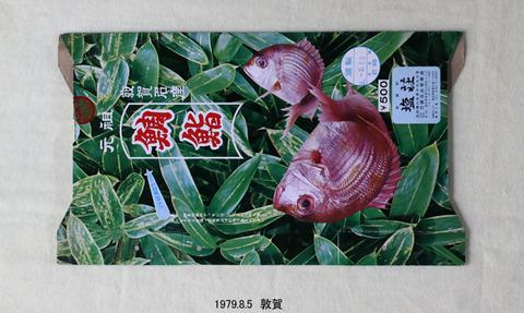 19790805 敦賀 鯛鮨