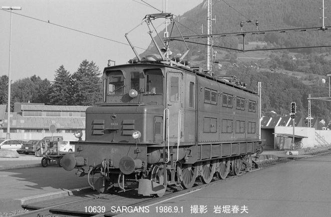 スイス国鉄Ae3/6 I形電気機関車 ...