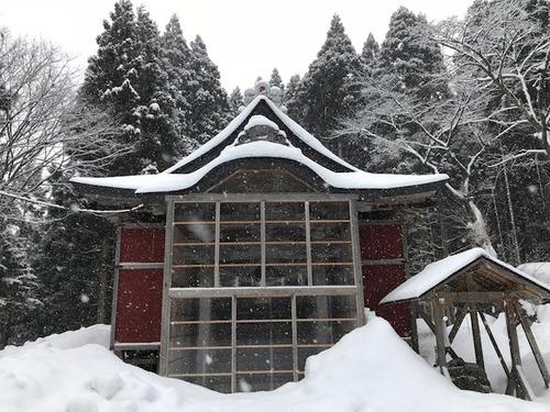 上杉八幡神社(冬3)