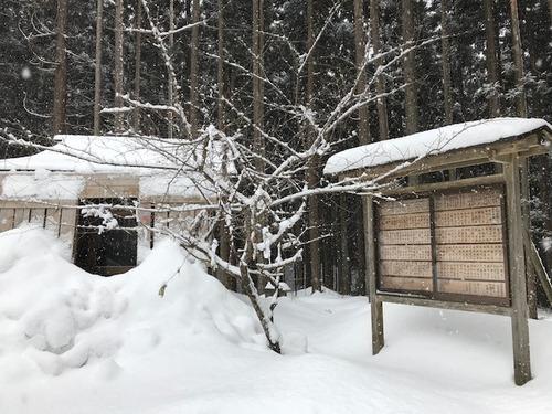 上杉八幡神社(冬4)
