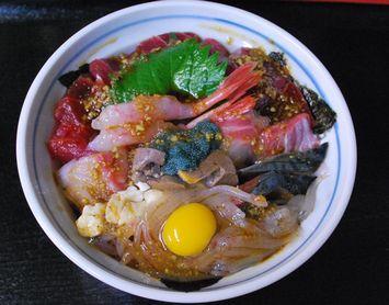 一期一会の海鮮丼