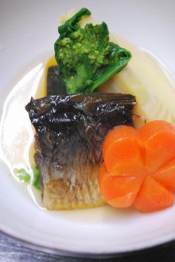 鹿児島産筍とニシンの煮物