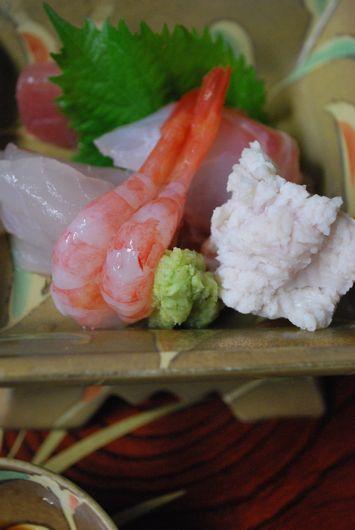 日本海の魚 お造り