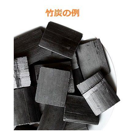 竹炭の例m題