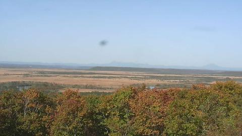 細岡展望台からみた釧路湿原北0
