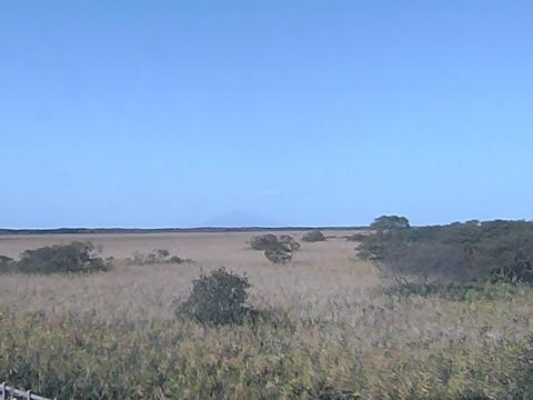 幌延ビジターセンターからみたサロベツ湿原 - 北海道天0