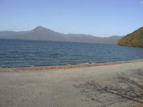 支笏湖と周辺の山々 - 北海道千歳市支笏湖0