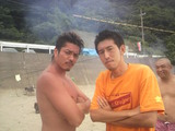 カンチガイ先生とアゴ村先生