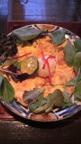 キノコと秋鮭のオムレツ