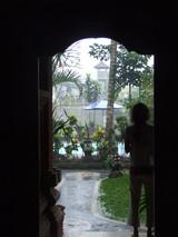 ウブドホテル2日目雨