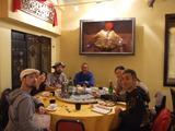 最終日の夜に行った大繁盛の台湾料理屋さんは、