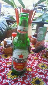 ビンタンビール!