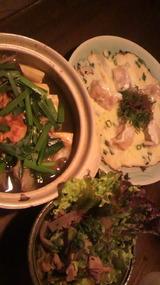 沖縄豚&韓国チャンプルー料理