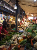 沖縄野菜がいっぱい。