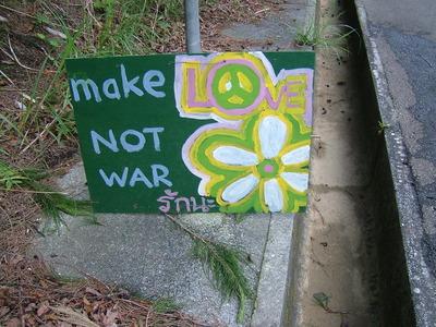 make not war