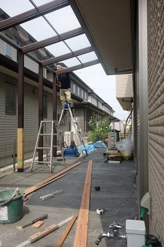 ガーデンテラス作成中