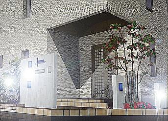 門柱・・夜の景色イメージ図