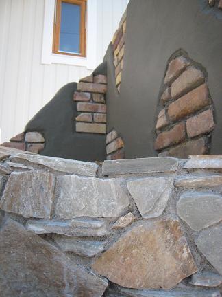 石積みの風景