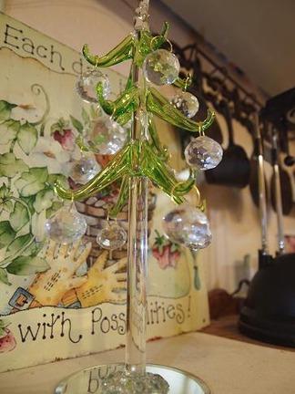 煌めくクリスマスツリー