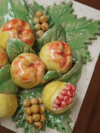 飾りタイル「フルーツ」